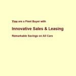 Innovative Sales and Leasing